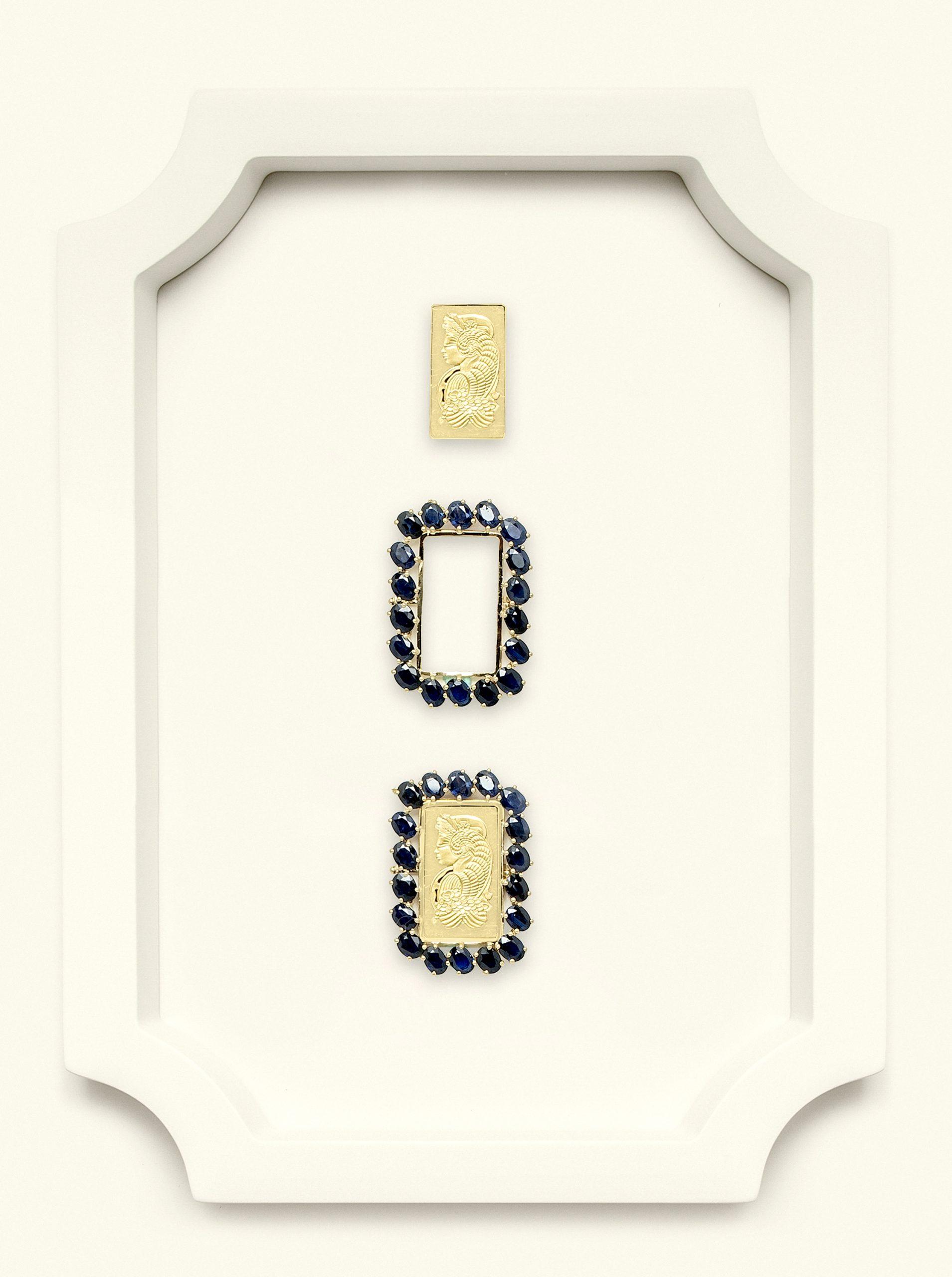 Naira Pendant Suisse Sapphire
